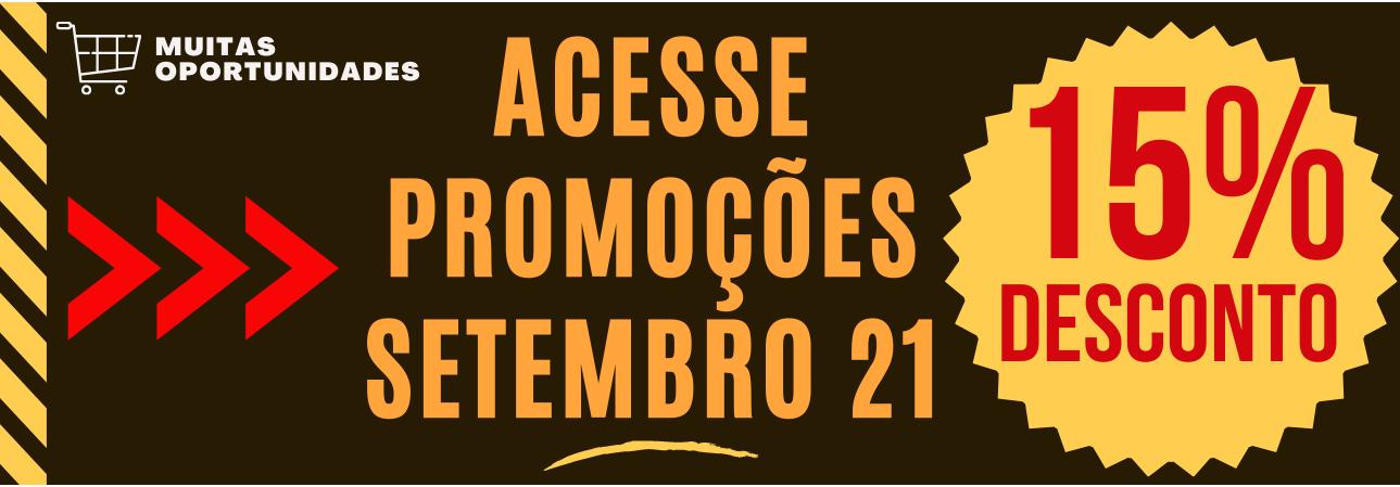 PROMOÇÃO SETEMBRO 2021
