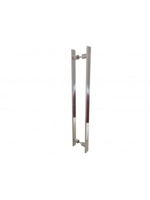 Puxador ZEUS  70cm - Duplo - Hastvel