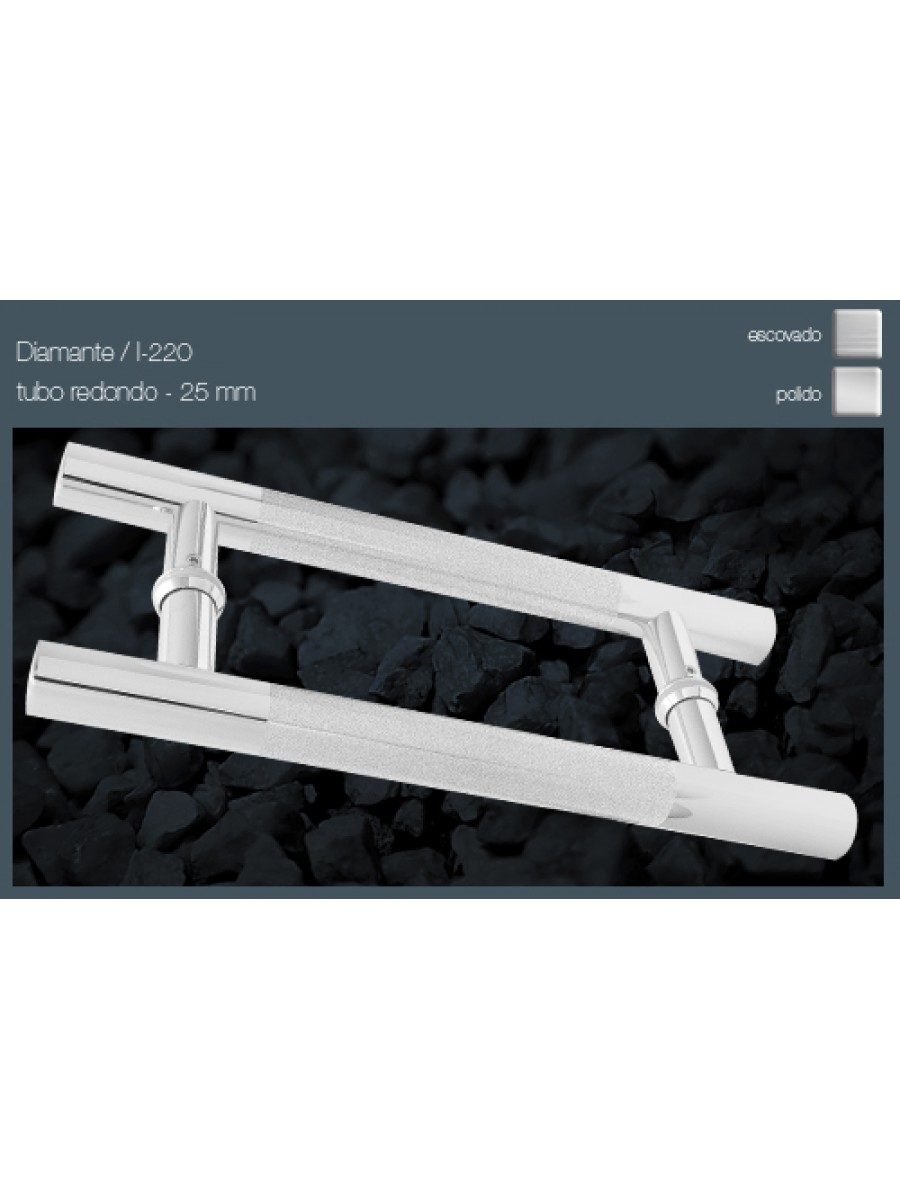 Puxador DIAMANTE - Duplo